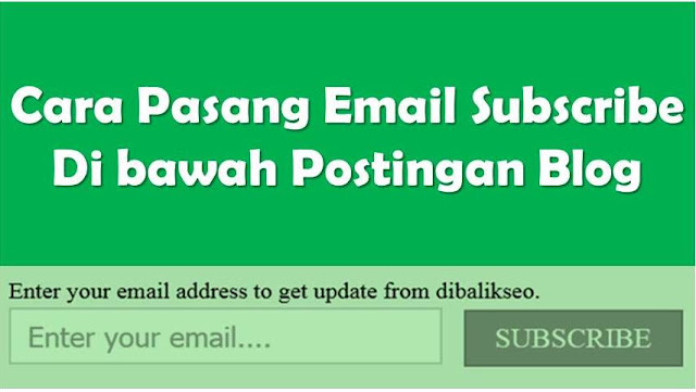 simple Email Subscribe