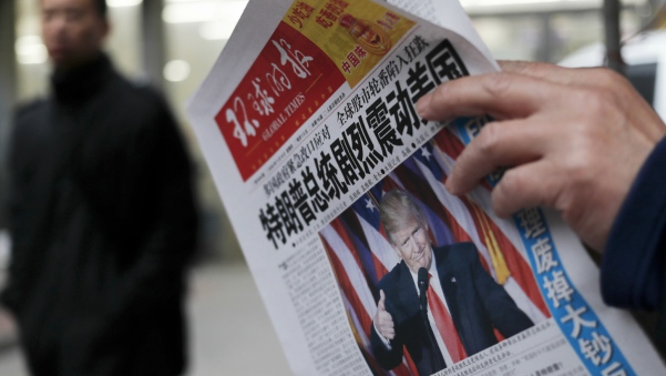 Chinese state media: US government shutdown exposes 'chronic flaws'