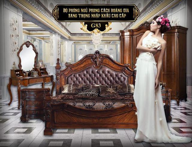Giường ngủ G83
