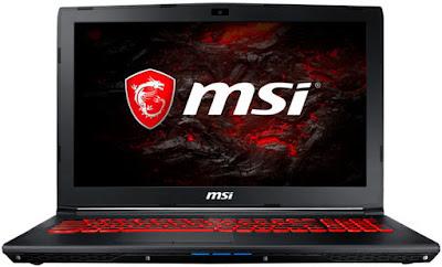 MSI GL62MVR 7RFX-1271XES