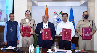 CRPF signed MoU with C-DAC