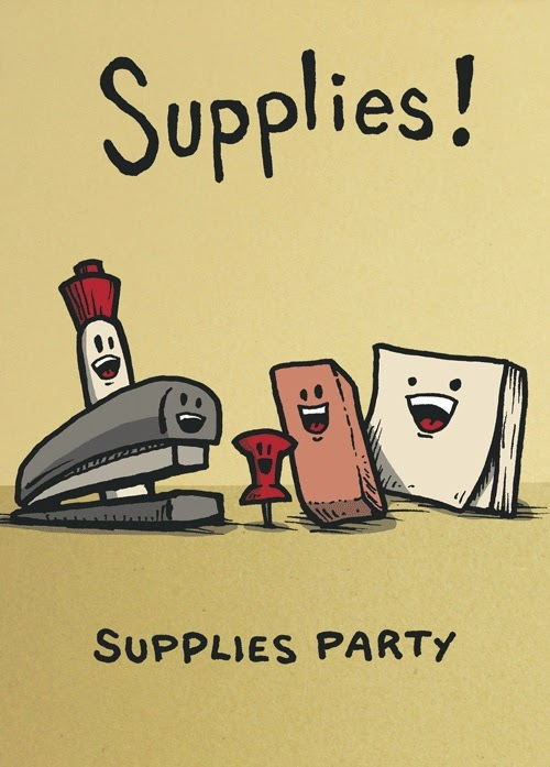 Funny Surprise Office Party Supplies Stationery Picture