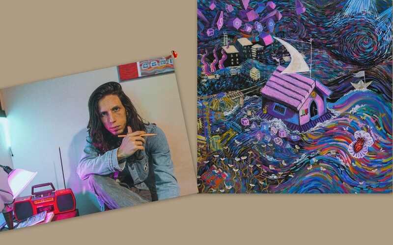 """Uma ode à nostalgia e à amizade"""". É com esse espírito que o baixista e vocalista da Vivendo do Ócio, Luca Bori, divulga mais uma música inédita do seu projeto solo, Jardim Soma."""