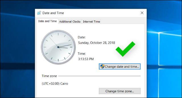 4 برامج مجانية لضبط الوقت والتاريخ تلقائيا بعد تشغيل