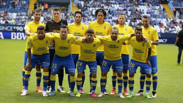 Última alineación de la temporada 2015-16 UD Las Palmas