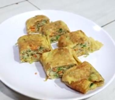 Kreasi telur dadar