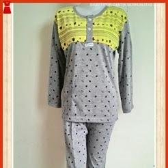 A27WS Grosir Pakaian Pijamas Perempuan Abu 2 Murah