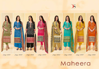 Deepsy Maheera Vol 4 Pashmina Suits Collection