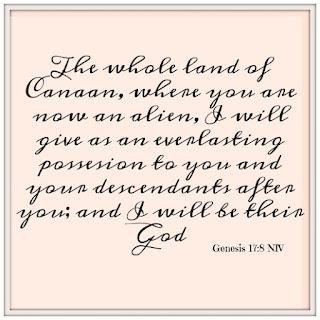 Genesis 17:8 | visiting the holy land