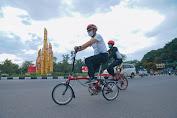 Meskipun tengah Berpuasa, Wali Kota Pontianak tetap olahraga bersepeda