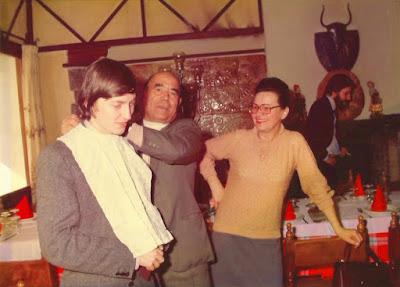 Karpov en la Masía Bou de Valls, 1985