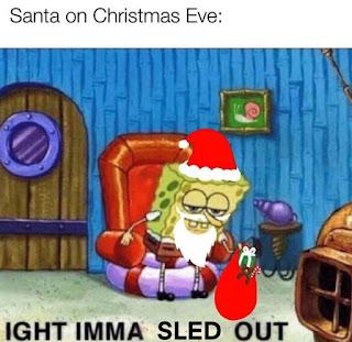 Santa Claus, Christmas Meme