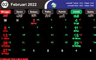 Master Kalender 2022