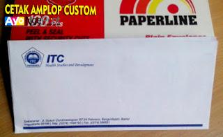 cetak kop amplop kop surat custom di Kebon Jeruk, Jakarta Barat
