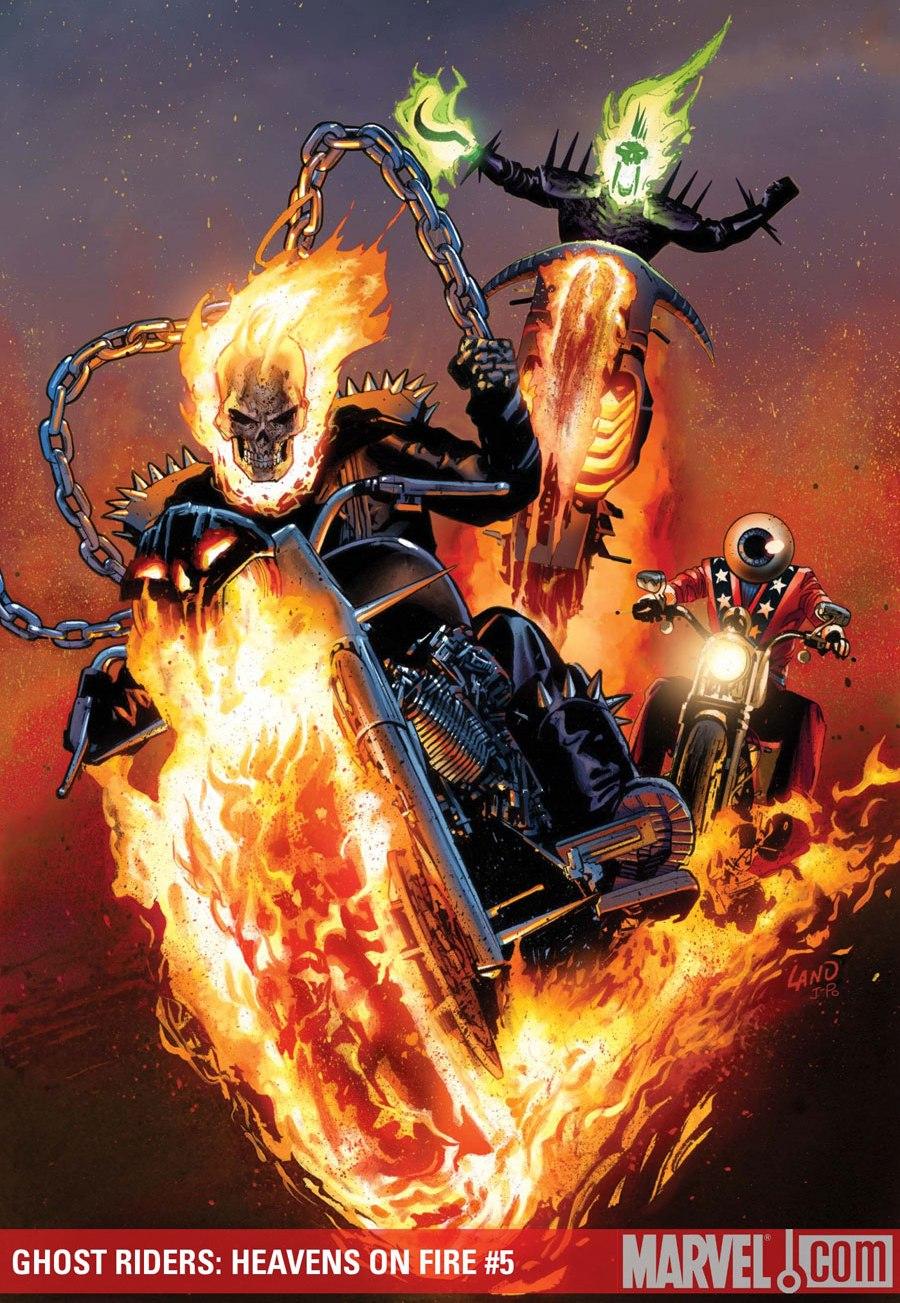 Fangirl Review: My Favorite Comic Book Hero: Ghost Rider