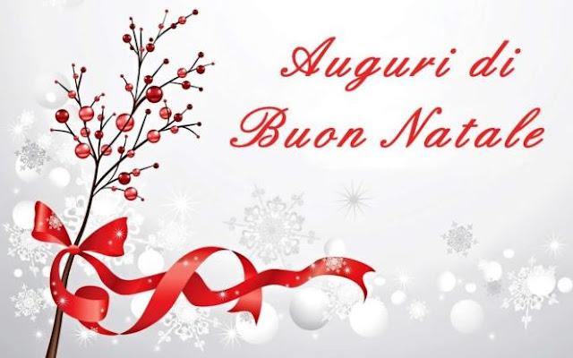 Buon Natale Merry Xmas in Italian