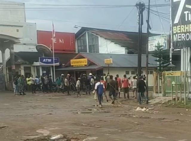 Polres Merauke berhasil amankan situasi Pelabuhan Yos Sudarso