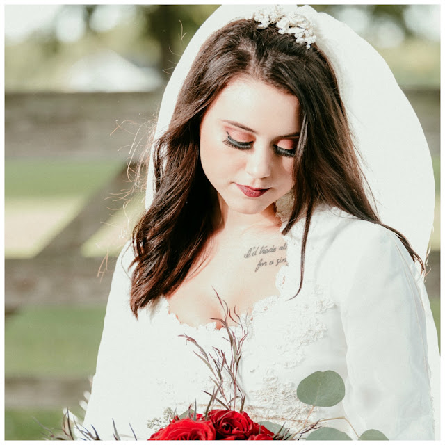 Red Eye shadow _ Makeup by Keri Ann _ Houston Best Makeup Artist