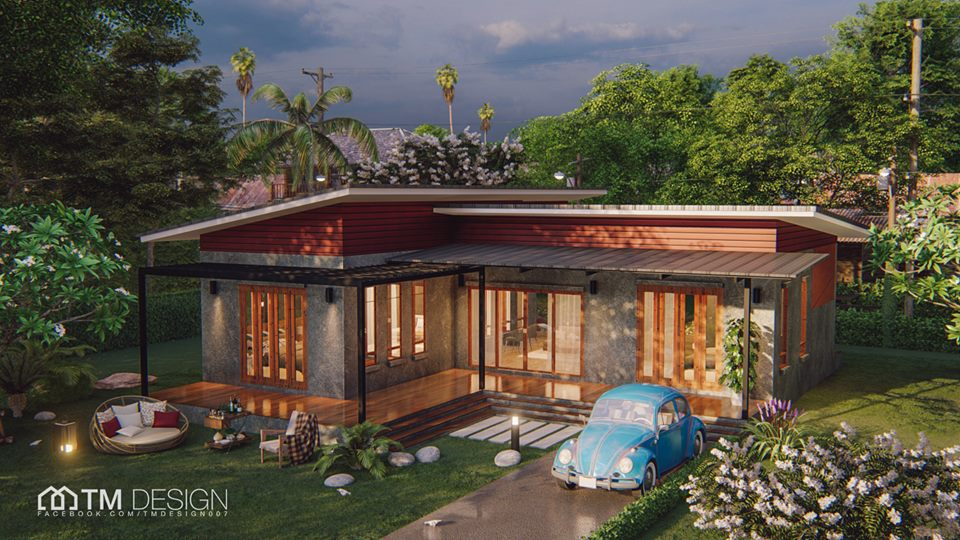 We love to have a house that is not quite similar to houses in our neighborhood. So if you are looking for something different, why don't you consider having an L-shaped house? In this post, we will show you modern L-shaped house plans collection from TM Designs! A house construction company based in Thailand!  House No. 1 One-Story L-Shaped House Plan 2 Bedrooms 3 Bathrooms 1 Kitchen 1 Living Room Area 100 sqm Construction Budget: 1.2 Million Bath  House No. 2  One-Story L-Shaped House Plan 2 Bedroom 1 Bathroom 1 Kitchen 1 Living Room Area: 145 sqm Construction Budget: 1.6 Million Baht  House No. 3 One-Story L-Shaped House Plans 2 Bedrooms 2 Bathrooms 1 Kitchen 1 Living Room Area: 126 sqm Construction Budget: 1.35 Million Baht or P2.2 Million  House No. 4 One-Story L-Shaped House Plans 3 Bedrooms 1 Bathroom 1 Kitchen 1 Living Room 1 Dining Room Area: 101 sqm Construction Budget: 1.2 Million Baht or P2 million pesos  House No. 5 One-Story L-Shaped House Plans 3 Bedrooms 2 Bathrooms 1 Kitchen 1 Living Room Area: 110 sqm Construction Budget: 1.2 Million Baht or P2 million pesos  House No. 6 One-Story L-Shaped House Plans 2 Bedrooms 2 Bathrooms 1 Kitchen 1 Living Room Area: 133 sqm Construction Budget: 1.35 million baht or P2.2 million pesos  House No. 7 One-Story L-Shaped House Plans 3 Bedrooms 2 Bathrooms 1 Kitchen 1 Living Room Area: 184 sqm Construction Budget: 1.85 million baht or P3 Million Pesos  House No. 8 One-Story L-Shaped House Plans 1 Bedroom 1 Bathroom 1 Kitchen 1 Hall 1 Storage Area: 123 sqm Construction Budget: 1,300,000 baht or P2.1 Million Pesos  House No. 9 One-Story L-Shaped House Plans 3 Bedrooms 2 Bathrooms 1 Office 1 Hall 1 Living Room Area:136 sqm Construction Budget: 1,300,000-1,500,000 baht or P2.1 to P2.4 Million Pesos  House No. 10 One-Story L-Shaped House Plans 2 Bedrooms 2 Bathrooms 1 Living Room 1 Kitchen Area: 105 sqm including the balcony Construction Budget: 1,100,000 Baht or P1.8 Million  This article is filed under   small house design, L-shaped houses, house design with floor plan, house budget, house construction, single-story houses,