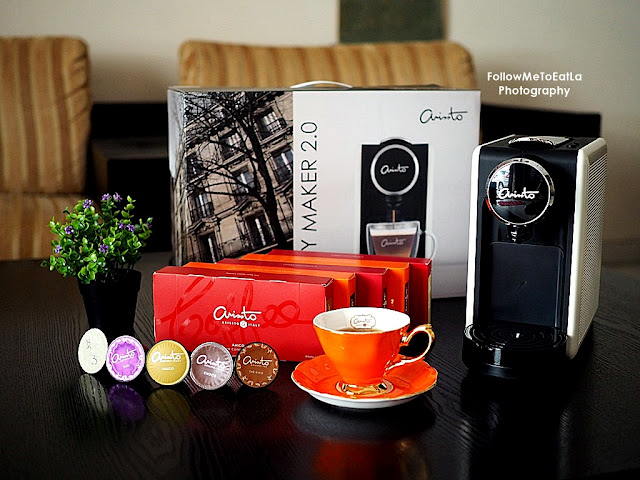 ARISSTO RM1 COFFEE PLAN For FREE Experience Of ARISSTO Italian Premium Coffee & ARISSTO Capsule Machine