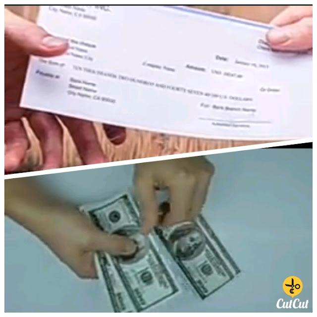 A beggar becomes a millionaire