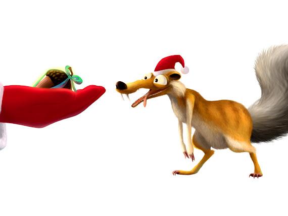 download besplatne pozadine za desktop 1152x864 slike ecard čestitke blagdani Božić Djed Mraz Božićnjak vjeverica