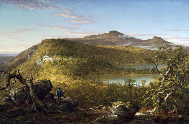 Thomas Cole Hudson River School Painting Mountain House