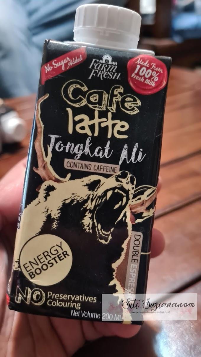 WORDLESS WEDNESDAY : Cafe Latte Tongkat Ali Farm Fresh memang Power!!