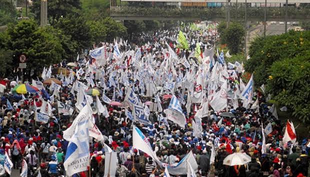 KSPI: 2 Juta Buruh Ikuti Mogok Nasional Tolak Omnibus Law 6-8 Oktober