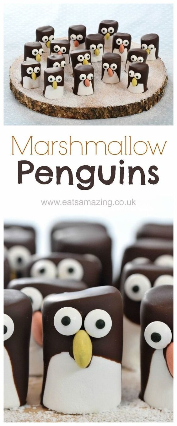 Marshmallow Penguins