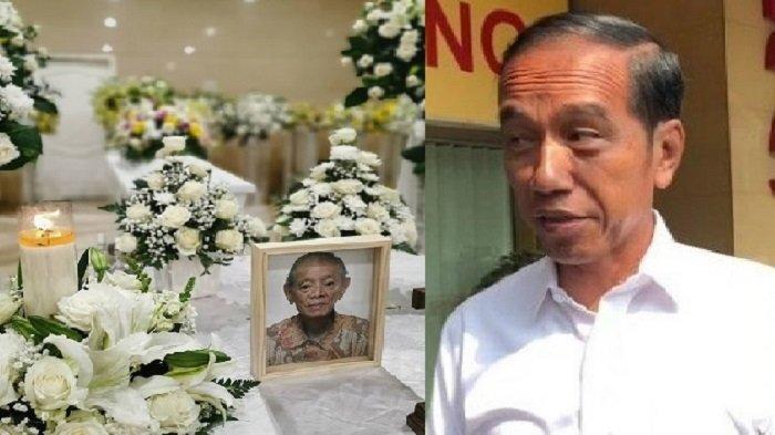 Presiden Jokowi Melayat Ke Rumah Duka atas Meninggalnya Ayah Dari Olga Lydia