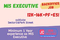 Back Office   MIS Executive
