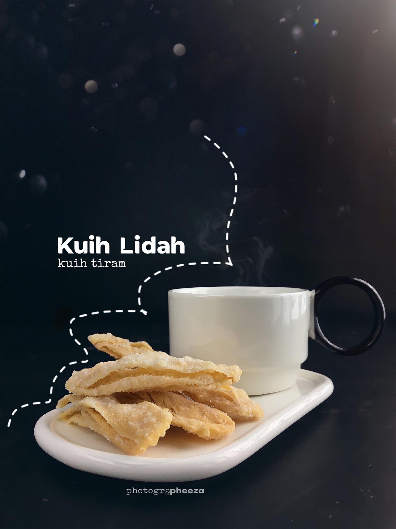Kuih Lidah @Kuih Tiram
