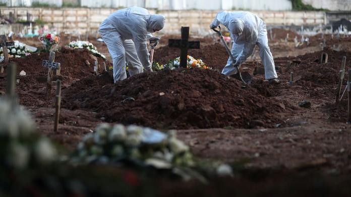 Brasil tem mais mortes em uma semana que EUA, México, Itália e Rússia juntos