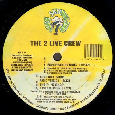 The 2 Live Crew – The Funk Shop (1990) (VLS) (FLAC + 320 kbps)