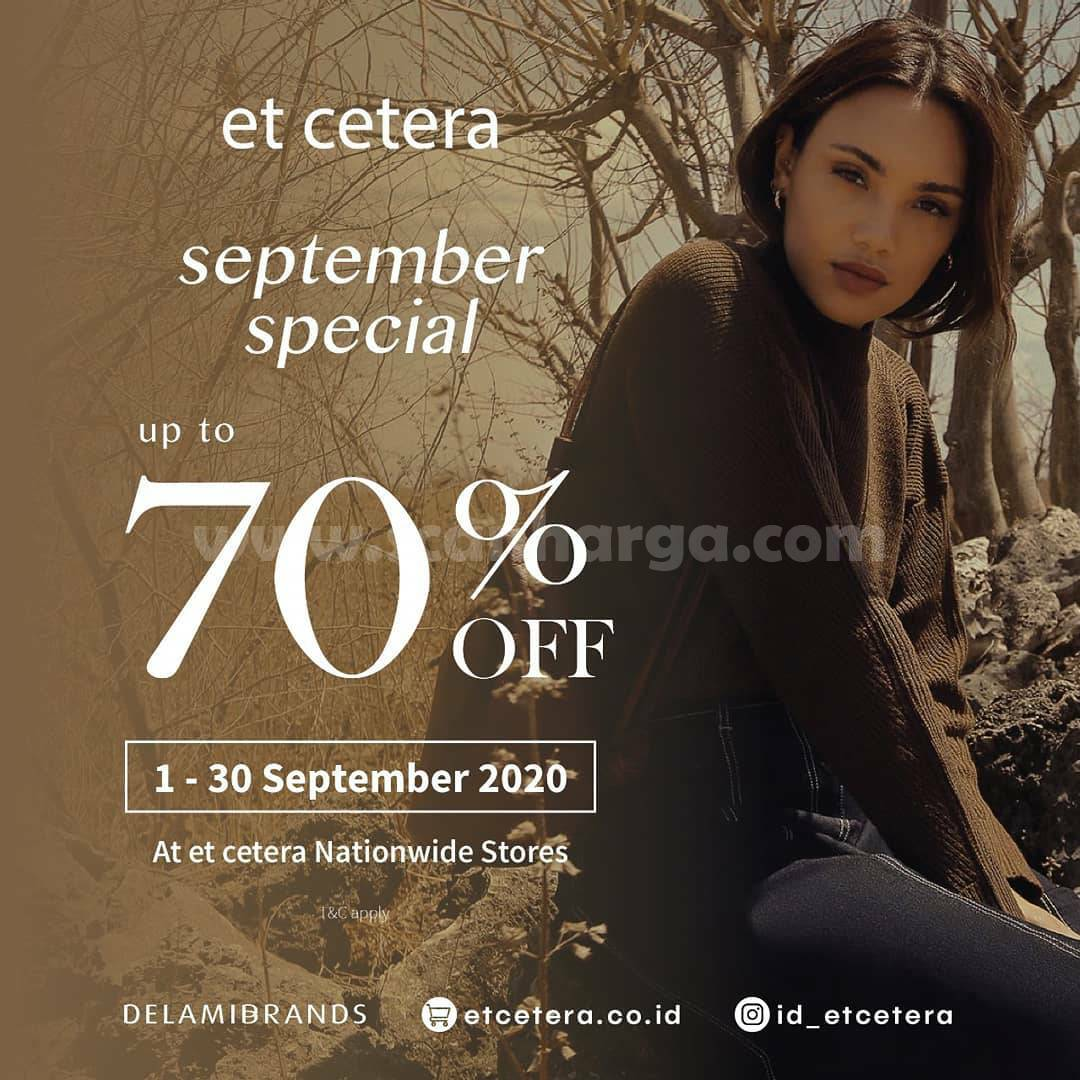 Promo Et Cetera Special September Discount Up To 70% Off