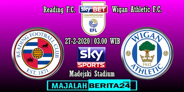 Prediksi Reading vs Wigan Athletic