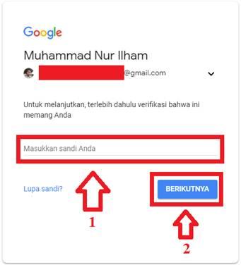 Gambar untuk Cara Menambahkan atau Mengganti Email Pemulihan pada Akun Google / Gmail