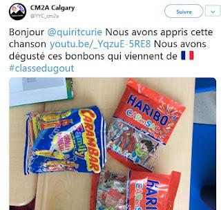 #Classedugout bonbons