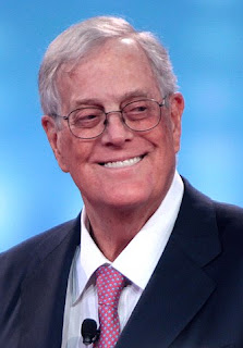 Head shot of David Koch