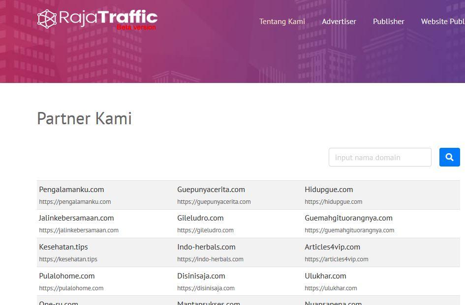 menjadi publisher raja traffic indonesia