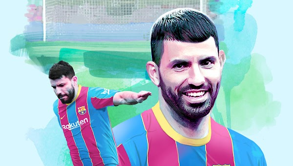 Oficial: El FC Barcelona ficha a Kun Agüero