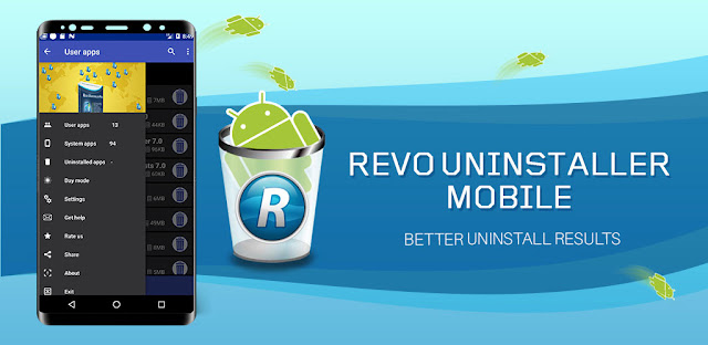 تنزيل  تطبيق Revo Uninstaller Mobile 2.2.190 - أداة احترافية وكاملة لحذف تطبيقات الاندرويد