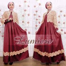 788+ Contoh Baju Muslim Batik Modern Terbaru
