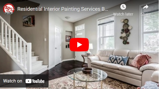 Your House And Home Deserves The Best Residential Interior Painting Services.