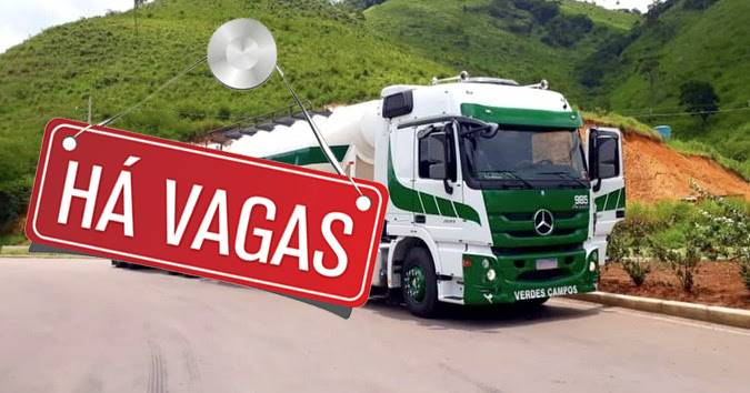 Transportadora Verdes Campos abre vagas para Motorista