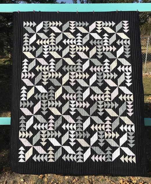 Swan Dive Quilt by Tanya Fredrick of Tanya Quilts, The Pattern designed by Kimberly of Fat Quarter Shop