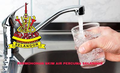Permohonan Skim Air Percuma Selangor 2019