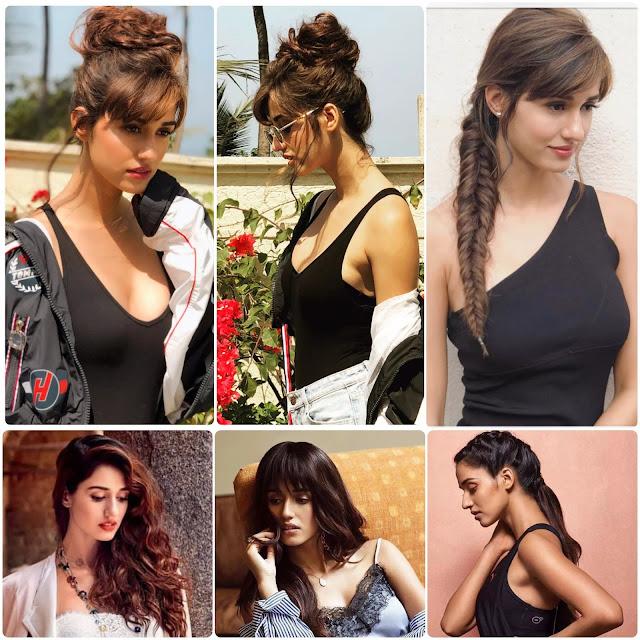 Disha Patani Hairstyle