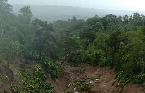 Data Distan KP Kep. Selayar : Ada 20 Titik Sebaran Longsor, Lahan Pertanian di Desa Bontokoraang
